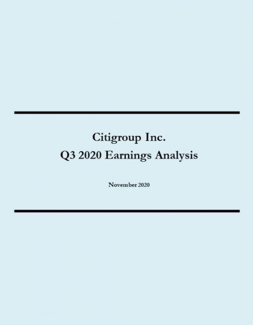 Citigroup Q3